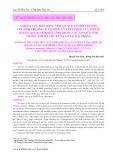 Nghiên cứu biến động một số yếu tố môi trường lên sinh trưởng, tỉ lệ sống và sản lượng của tôm sú (Penaeus monodon Fabricius, 1798) trong các ao nuôi tôm thâm canh đa chu kỳ đa ao tại Hải Phòng