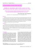Nghiên cứu thu hồi dầu thô từ đầu cá ngừ vây vàng bằng phương pháp thủy phân sử dụng enzyme Alcalase từ đầu cá ngừ vây vàng bằng phương pháp thủy phân sử dụng enzyme Alcalase