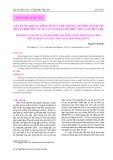 Xây dựng khung phân tích và hệ thống chỉ tiêu đánh giá phát triển bền vững của ngành Chế biến thủy sản Bến Tre