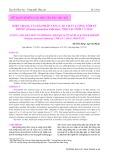 Hiện trạng và giải pháp nâng cao chất lượng tôm sú giống (Penaeus monodon Fabricius, 1789) tại tỉnh Cà Mau