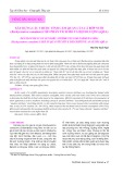 Xây dựng các thuộc tính cảm quan của cá Bớp nuôi (Rachycentron Canadum) cho phân tích mô tả định lượng (QDA)