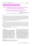 Yếu tố ảnh hưởng tới năng suất nghề nuôi cá lồng bè tại vùng biển Nam Du, tỉnh Kiên Giang