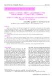 Nghiên cứu tách chiết và khảo sát hoạt tính chống oxy hoá của dịch chiết nấm rơm