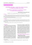 Thành phần hóa học và khả năng chống oxi hóa của Protein Artemia thủy phân