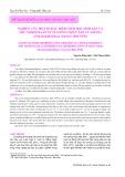 Nghiên cứu một số đặc điểm sinh học sinh sản và thử nghiệm sản xuất giống nhân tạo cua đồng (Somanniathelphusa sisnensis, Bott 1970)