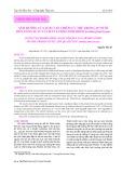 Ảnh hưởng của loài tảo chiếm ưu thế trong ao nuôi đến năng suất và chất lượng sinh khối Artemia franciscana