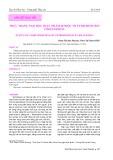Thực trạng ngộ độc thực phẩm do độc tố Tetrodotoxin ở Khánh Hòa