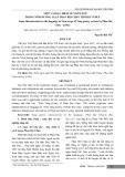 Một vài đặc điểm về ngôn ngữ trong nôm đường luật phan bội châu thời kỳ ở Huế