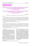 Thành phần loài và thử nghiệm trị bệnh do ký sinh trùng gây ra trên cá Chẽm (Lates calcarifer Bloch, 1790) nuôi tại Khánh Hoà