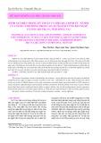 Đánh giá hiện trạng kỹ thuật và hiệu quả kinh tế - xã hội của nuôi cá rô đồng trong ao, eo ngách vùng bán ngập ở lòng hồ Trị An, tỉnh Đồng Nai