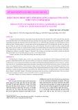 Hiện trạng bệnh trên tôm Hùm giống (≤5g/con) ương nuôi ở Phú Yên và Bình Định