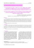 Sự thay đổi số lượng vi khuẩn lactic trong quá trình lên men tự nhiên hạt ca cao và tuyển chọn chủng vi khuẩn lactic thích hợp cho quá trình lên men ca cao