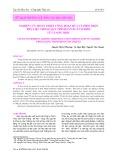 Nghiên cứu hoàn thiện công đoạn rửa và phối trộn phụ liệu trong quy trình sản xuất surimi từ cá Sơn thóc
