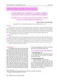 Đánh giá hiệu quả kinh tế của nghề chụp mực tại huyện Thủy Nguyên, thành phố Hải Phòng