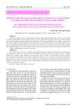 Mối quan hệ giữa chất lượng dịch vụ đào tạo và sự hài lòng của sinh viên Trường Đại học Xây dựng Miền Trung