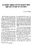 Lê triều thông sử của Lê Quý Đôn: Một số vấn đề văn bản