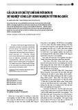 Cải cách cơ chế tự chủ đối với đơn vị sự nghiệp công lập: Kinh nghiệm từ Trung Quốc
