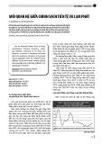 Mối quan hệ giữa chính sách tiền tệ và lạm phát