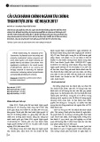 Cải cách hành chính ngành Tài chính: Thành tựu 2016 kế hoạch 2017