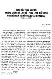 Châu bản triều Nguyễn những chứng cứ lịch sử - Pháp lý về chủ quyền của Việt Nam đối với Hoàng Sa - Trường Sa