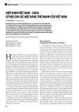 Hiệp định Việt Nam EAEU: Cơ hội cho các mặt hàng thế mạnh của Việt Nam