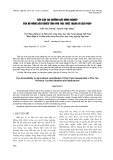 Tiếp cận thị trường đất nông nghiệp của hộ nông dân nghèo tỉnh Phú Thọ: Thực trạng và giải pháp