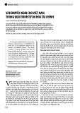 Vài khuyến nghị cho Việt Nam trong quá trình tự do hóa Tài chính