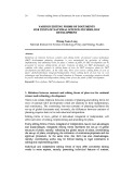 Various editing forms of documents for texts of national science technology development