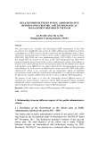 Relationship between public administrative reform and scientific and technological management reform in Vietnam