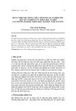 Hoàn thiện hệ thống tiêu chí đánh giá nghiệm thu kết quả nghiên cứu khoa học xã hội tại trường Đại học Khoa học, Đại học Thái Nguyên