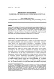 Knowledge management in science and technology enterprises in Vietnam
