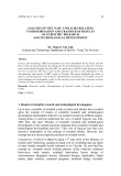 Analysis of Viet Nam' s policies relating to dissemination and transfer of results of scientific research and technological development