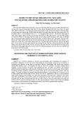 Nghiên cứu một số đặc điểm kiến thức, thực hành của phụ nữ mắc viêm âm đạo đến khám tại Bệnh viện 103 (2013)