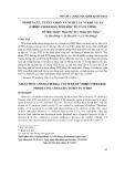 Nghiên cứu tuyển chọn và nuôi cấy vi khuẩn tả (vibrio cholerae) sinh độc tố tả in vitro