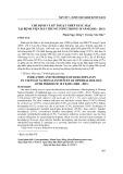 Chỉ định và kỹ thuật ghép giác mạc tại Bệnh viện Mắt Trung ương trong 10 năm (2002-2011)