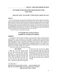 Phytosome và ứng dụng trong công nghệ dược phẩm
