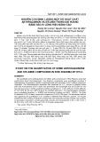 Nghiên cứu định lượng một số hoạt chất anthraquinon và stilben trong Đại hoàng bằng sắc kí lỏng hiệu năng cao