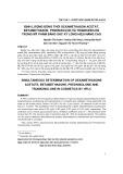 Định lượng đồng thời dexamethason acetat, betamethason, prednisolon và triamcinolon trong mỹ phẩm bằng sắc ký lỏng hiệu năng cao