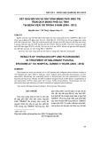 Kết quả nội soi và gây dính màng phổi điều trị tràn dịch màng phổi ác tính tại Bệnh viện 103 trong 8 năm (2004-2012)