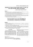 Nghiên cứu tính an toàn của bài thuốc CT11 điều trị rối loạn lipid máu trên thực nghiệm