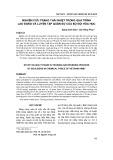Nghiên cứu trạng thái nhiệt trong quá trình lao động và luyện tập quân sự của bộ đội hóa học