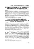 Kết quả điều trị bệnh võng mạc trẻ đẻ non hậu cực bằng tiêm thuốc ức chế tân mạch nội nhãn