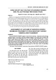 Đánh giá kết quả của phác đồ 6KRHREO/12RHZEO điều trị lao phổi mạn tính kháng thuốc