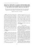 Khảo sát ảnh hưởng của độ già thu hái đến chất lượng của quả dưa lưới ruột vàng Cucumismelo l.var.reticulatus trong thời gian bảo quản