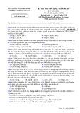 Đề thi thử THPT Quốc gia môn GDCD năm 2018 - THPT Đăk Song - Mã đề 628