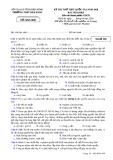 Đề thi thử THPT Quốc gia môn GDCD năm 2018 - THPT Đăk Song - Mã đề 896