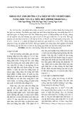 Khảo sát ảnh hưởng của một số yếu tố đến khả năng bóc vỏ của tiêu đen (Piper nigrum L.)