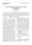 Khái niệm trọng lượng qua các bài toán Vật lý phổ thông