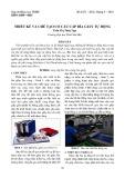 Thiết kế và chế tạo cơ cấu cấp bìa giấy tự động
