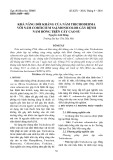 Khả năng đối kháng của nấm Trichoderma với nấm Corticium salmonicolor gây bệnh nấm hồng trên cây cao su